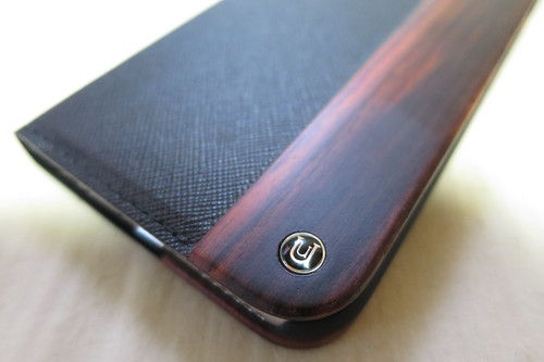 UUNIQUE Wooden Case with Saffiano Texture iPhone 6