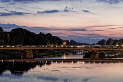 An evening- Firenze (in explore) (aliffc3) Tags: italy landscape tuscany firenze arnoriver rokinon85f14 sonya6000
