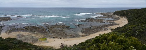 Crayfish bay panorama