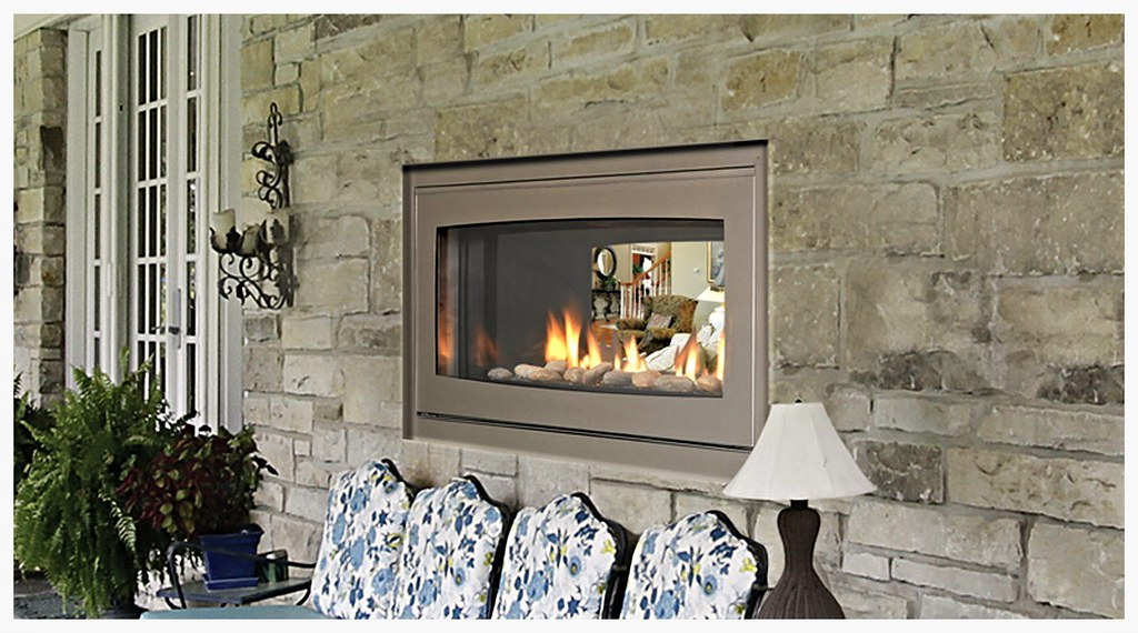 Monessen Echelon Indoor / Outdoor Fireplace