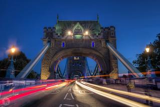 Tower Bridge by night [UK]