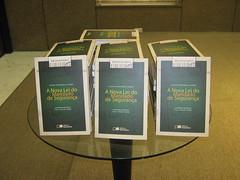 Literatura distribuída para os convidados