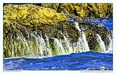 Ocean Waterfall (lhg_11, 2million views. Thank you!) Tags: beach surf malibu lichen southerncalifornia leocarrillostatebeach