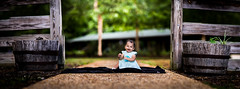 Playing in the Park (Brenizer) (Robbybeggs) Tags: park light panorama baby sunlight playing green girl beautiful field yellow asian fun outside outdoors toddler pretty shoot dof child natural bokeh outdoor pano awesome rob filipino filipina thin depth method beggs 6d brenizer 135l bokehrama
