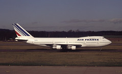 F-BPVL. Air France Boeing 747-128 (Ayronautica) Tags: march edinburgh aviation 1992 boeing 747 airfrance airliners egph b741 747128 fbpvl ayronautica