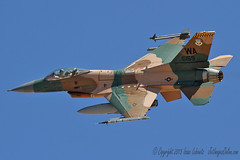 F-16 Aggressor departing on a mission (JetImagesOnline) Tags: red fighter force exercise general flag aircraft air jet f16 viper usaf base dynamics 65 154 afb nellis aricraft aggressor f16c agrs