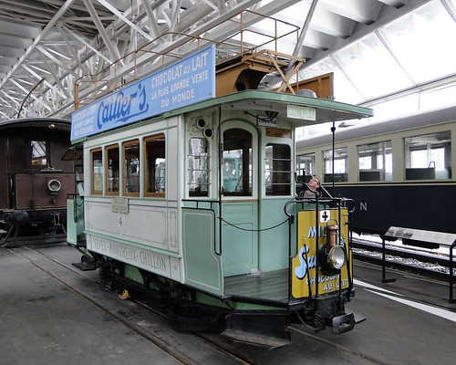 VHS VMCV Electric tramcar type Ce 1/2.