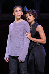 Brian Flores as Pippin and Gabrielle McClinton as Leading Player in the national tour of PIPPIN presented by Broadway Sacramento at the Sacramento Community Center Theater Dec. 29, 2015 – Jan. 3, 2016. Photo by Joan Marcus.