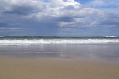 111. St Combs Beach (GraynKirst) Tags: blue sea summer sky cloud seascape beach water clouds coast scotland seaside sand surf waves aberdeenshire tide shoreline bluesky coastal shore northsea coastline stcombs grahamjarman