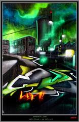 Artists: Core One, Wuam, Disoe (pharoahsax) Tags: world street urban bw streetart get art colors wall writing germany painting deutschland graffiti artwork mural paint artist kunst tag tags spray peinture urbanart painter need writer graff baden karlsruhe ka core legal spraycan wrttemberg sden wuam pmbvw disoe worldgetcolors