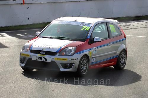 Carlito Miracco in the Fiesta Junior Championship, Brands Hatch, 2015