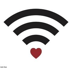 Love (khalid Albaih) Tags: love internet cartoon syria wireless khalid qatar cartoonist sudanese خالد حب السودان كركتير انترنت سوداني البيه وايرلس illutraion khartoon khalidalbaih