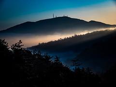 PhoTones Works #7198 (TAKUMA KIMURA) Tags: sea cloud sun mountain nature japan clouds sunrise landscape scenery olympus       okayama kimura em1    takuma    photones