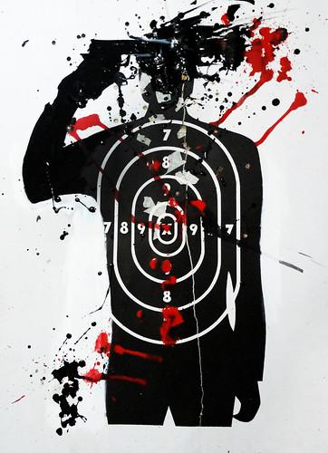 Serie_ VIOLENCIA SIN GENERO_Suicidio _Acrílico sobre blancos de cartón75x54_Nov2015