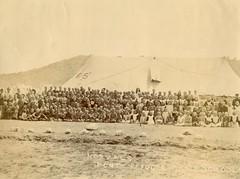 Norvals Pont Camp School, c.1901.
