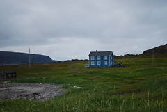 Nice old (solfridn) Tags: summer sky house nature norway architecture landscape exterior nordic finnmark visitnorway kongsfjord northernorway veidnes