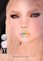 PICHI @ Cosmetic Fair (Zxxrysa Magic - PICHI) Tags: mesh events avatar makeup fair sl event secondlife pichi lipstick tmp tissu lelutka zxxrysamagic themeshproject