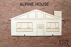 6by6Arts_PopUpVillage5 (thea superstarr) Tags: wood houses holiday modern century village handmade birch kit popup maker pnw mid midcenturymodern madeinusa mcm lasercut laserengraved 6by6arts