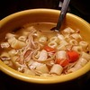 I like this one better #soupporn #cookingathome #turkeysoup #leftovers (Sivyaleah (Elora)) Tags: thanksgiving yellow turkey soup pasta fiestaware