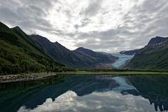 Svartisen Glacier 05 (mpetr1960) Tags: ocean sea sky seascape reflection ice nature beauty norway clouds landscape nikon europe eu glacier fjord seaview d800 svartisen nikond800