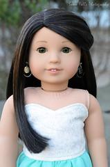 Arielle (~Snow~) Tags: girl doll 64 american tm ag custom myag