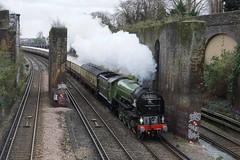 Belmond British Pullman (McTumshie) Tags: england london train unitedkingdom railway a1 tornado putney steamlocomotive londonist 60163 belmondbritishpullman 12december2015