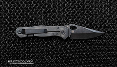 Quartermaster Mr. Roper - Open (Fly to Water) Tags: black mr mail lock acid ring chain wash edge weapon frame blade edc folding chainmail roper tactical edged ringmail quartermaster blackwash