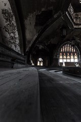 St Curvy  #Detroit #Church #LowLight #Decay #WindowLight  #Window #StainedGlass #Abandoned #Urban #UrbanExplorer #Urbex #DetroitMichigan #Michigan #PureMichigan #Wood #WoodGrain (kallyone) Tags: wood urban abandoned church window lowlight decay michigan detroit stainedglass woodgrain windowlight urbex detroitmichigan urbanexplorer puremichigan