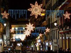 Luces Navideas 2015. Calle Carretas (Madrid) (Juan Alcor) Tags: madrid navidad luces calle nocturno carretas lucesnavideas