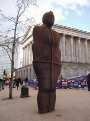 Gormley Figure (Aidan McRae Thomson) Tags: birmingham westmidlands sculpture contemporary modern artwork statue anthonygormley