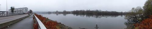 panorama de La Seine à Elbeuf