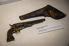 Colt Army Model 1860 Revolver (Serendigity) Tags: lincoln wildwest historic 1860 museum colt newmexico revolver unitedstates gun town usa