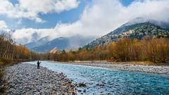 Photographer at Kamikochi River