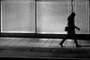 By leaving the scene (pascalcolin1) Tags: paris13 nuit night femme woman lumière light scene rayures stripes photoderue streetview urbanarte noiretblanc blackandwhite photopascalcolin