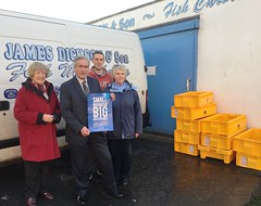 Visiting James Dickson and Son for Small Business Saturday
