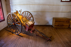 Old Fire Wagon (Serendigity) Tags: lincoln newmexico historic museum usa unitedstates wagon town wildwest