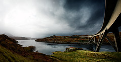 Kylesku Bridge (Grant Morris) Tags: kyleskubridge bridge landscape hdr panorama waterscape loch scotland grantmorris grantmorrisphotography canon