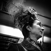 (johndutcher) Tags: nyc streetphotography feather women vintage blackwhite blackandwhite bw noir train