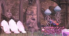 The Mermaid's Cove (Imaginarium Poses & http://thegoodgorean.blogspot.) Tags: 22769 bynacht jackalope littlebranch lostjunction peaches pillows splash thecove theepiphany thesecretaffair yourdreams