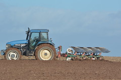 New Holland 8360 Tractor with a Kverneland 5 Furrow Plough (Shane Casey CK25) Tags: new holland 8360 tractoor kverneland 5 furrow plough ford blue rathcormac nh cnh newholland ploughing turn sod turnsod turningsod turning sow sowing set setting tillage till tilling plant planting crop crops cereal cereals county cork ireland irish farm farmer farming agri agriculture contractor field ground soil dirt earth dust work working horse power horsepower hp pull pulling machine machinery nikon d7100