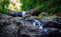 Cooling off (sire_harvey) Tags: water waterfall seq qld gold coast hinterland forest longexposure