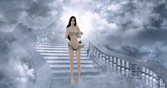 Angelical (Curiosse) Tags: angelical angel cielo celestial heaven heavenly mujer woman sl arte art fotografia photography