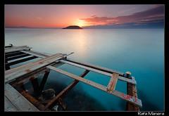 Pantalan roto , Magalluf (Rafa63) Tags: amanecer pantalan mallorca mediterraneo mar