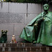 Laika and Franklin Delano Roosevelt Memorial | Washington DC