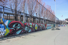 Distort (NJphotograffer) Tags: graffiti graff new jersey nj skatepark skate park skateboarding disto distort aids goa crew