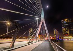 Erasmus bridge (fransvansteijn) Tags: rood