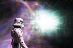 4-365 (FadeToBlackLP) Tags: lightpainting starwars stormtrooper rainbow blast light movement zoompull tokina art lightart colourful spectrum hand lit darkness atmosphere