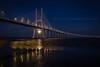 Super Moon (Alexandre de Sousa Photography) Tags: 2016 lisboa portugal sunset water architecture lisbon longexposure long exposure bridge reflection river night nightscape