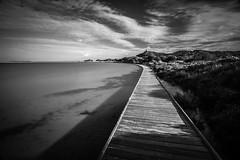 La meta -- #58explore (matta.eu) Tags: villasimius stagno mare biancoenero sardegna cielo nuvole portogiunco canon eugeniomatta