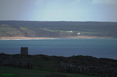 IMG59114a_C (Kernowfile) Tags: loebar beach sand sea waves porthleven grass hills cliffs